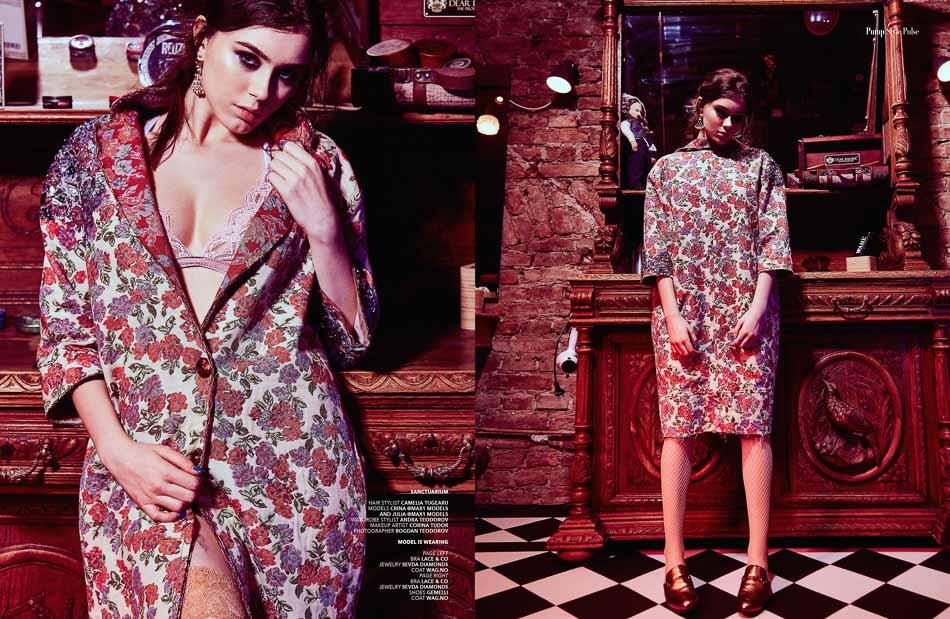 Editorial Fashion Pump Magazine fotograf moda lookbook Bucuresti arta profesionist Constanta studio foto beauty makeup produs rochii revista