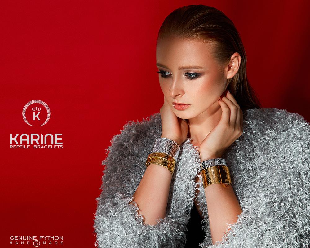 Fotograf Constanta Bucuresti Profesionist Campanie Karine Reptile Bracelets Fotografie Imagine Fashion Moda Bijuterii Lux Roman Experienta