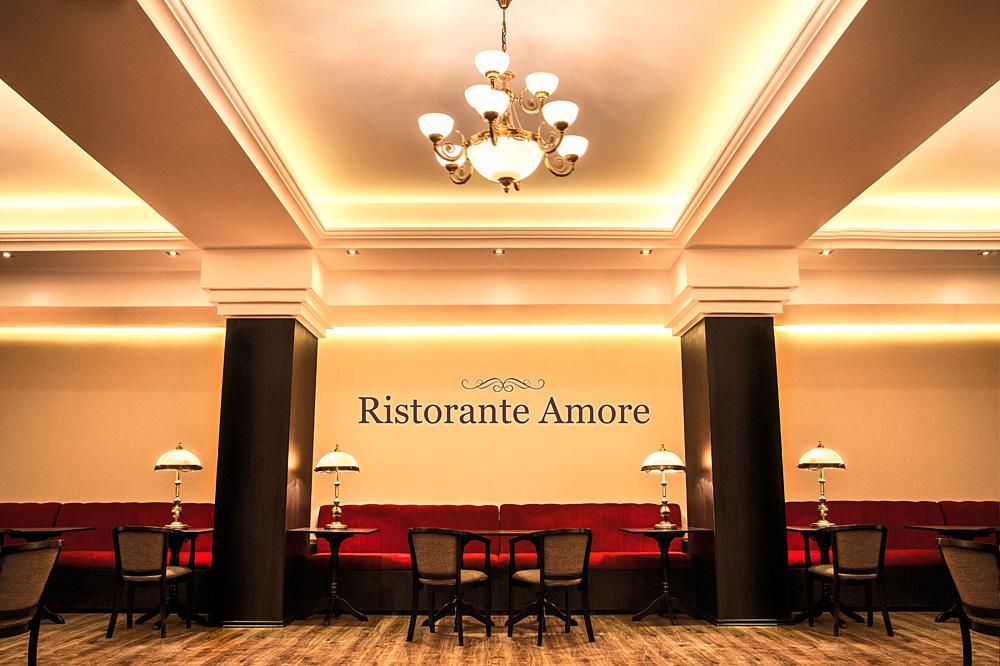 Sedinta foto interior restaurant Amore
