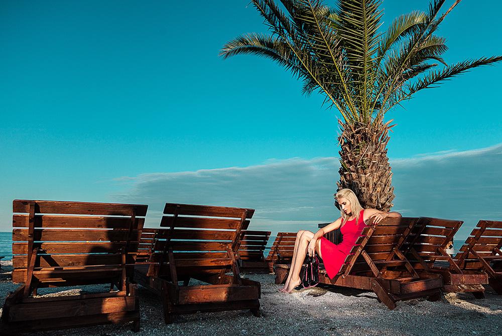 Fotograf Constanta - sedinta foto fashion Mamaia plaja si lac