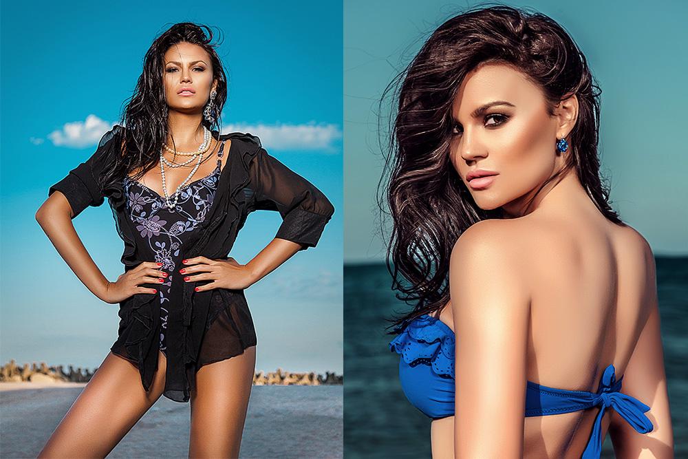 Sedinta foto glamour pe plaja Natalia Vranceanu Crazy Love