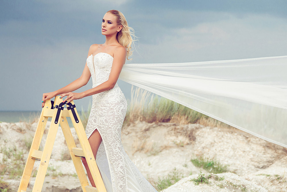 Fotograf de moda rochii de mireasa Cielle Couture fashion