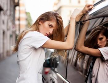 Model Test Cristina Maria Saracut Joy Models Milano, fotograf de moda