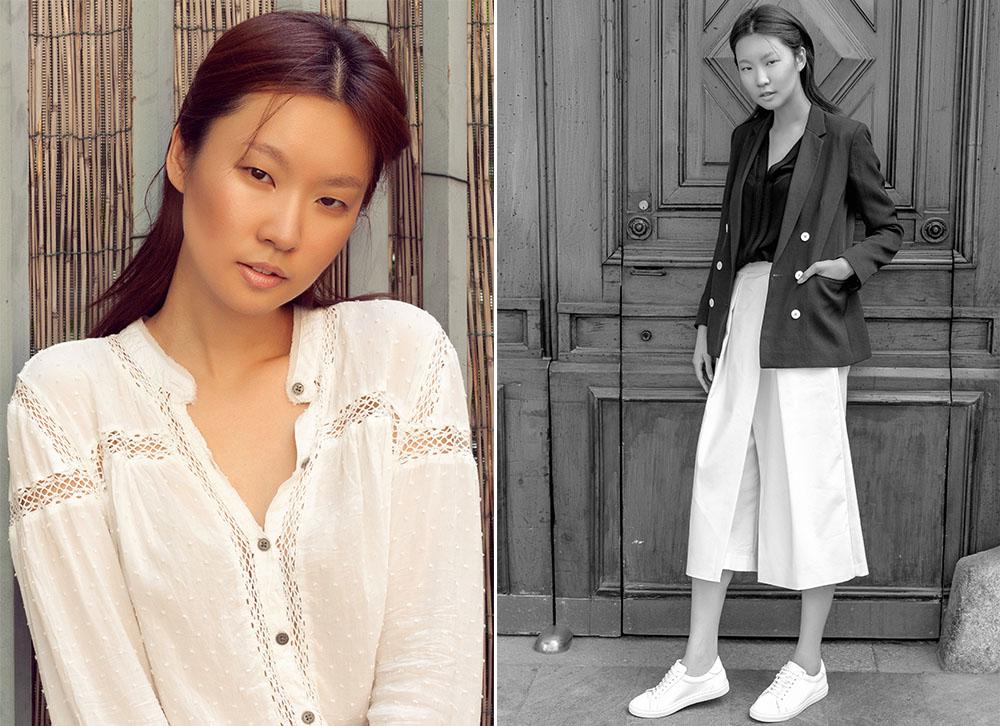 Model Test Min Das Models Milano manechin Korea, fotograf de moda