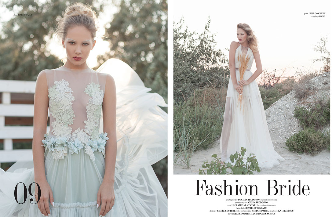 Fashion Bride editorial Dreamingless Magazine, fotograf, moda, lookbook, imagine