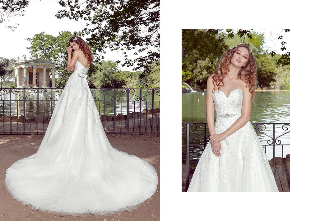 Lookbook rochii mireasa Amanda di Velli Bridal
