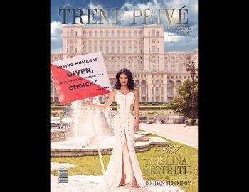 Adelina Pestritu fotografii editorial Trend Prive Magazine, fotograf fotografie moda fashion make studio lookbook produs Constanta Bucuresti