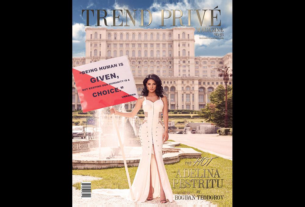 Adelina Pestritu fotografii editorial Trend Prive Magazine