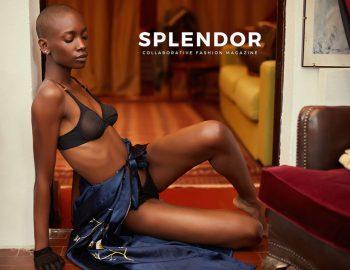 Sedinta foto editorial fashion Revista Splendor fotograf studio foto Constanta Bucuresti lookbook produs campanie moda rochii lenjerie makeup