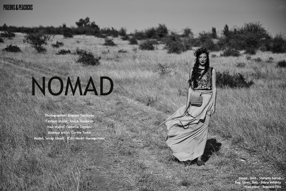 Fotografie fashion revista Londra