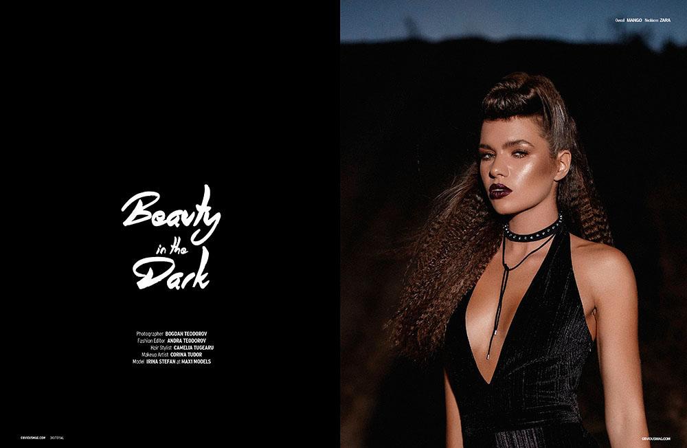 Sedinta foto editorial fashion Obvious Magazine