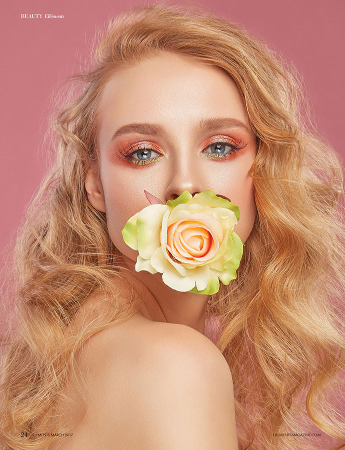 Fotografie makeup beauty editorial revista Ellements NY fotograf studio foto bucuresti constanta lookbook campanie bun fashion produs magazin