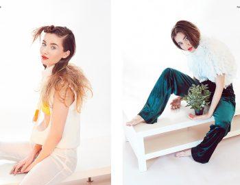 Pineapple sedinta foto editorial fashion Hacid fotograf studio foto Constanta Bucuresti lookbook rochii mireasa campanie bijuterii produs art