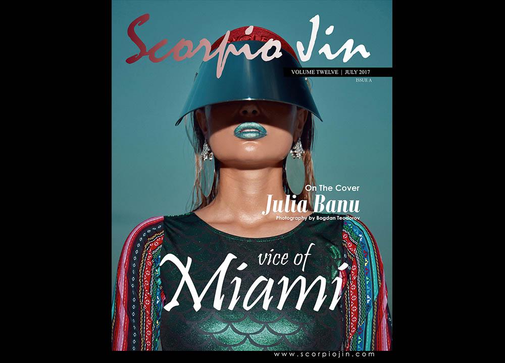 Cover Scorpio Jin Magazine fotografie fashion