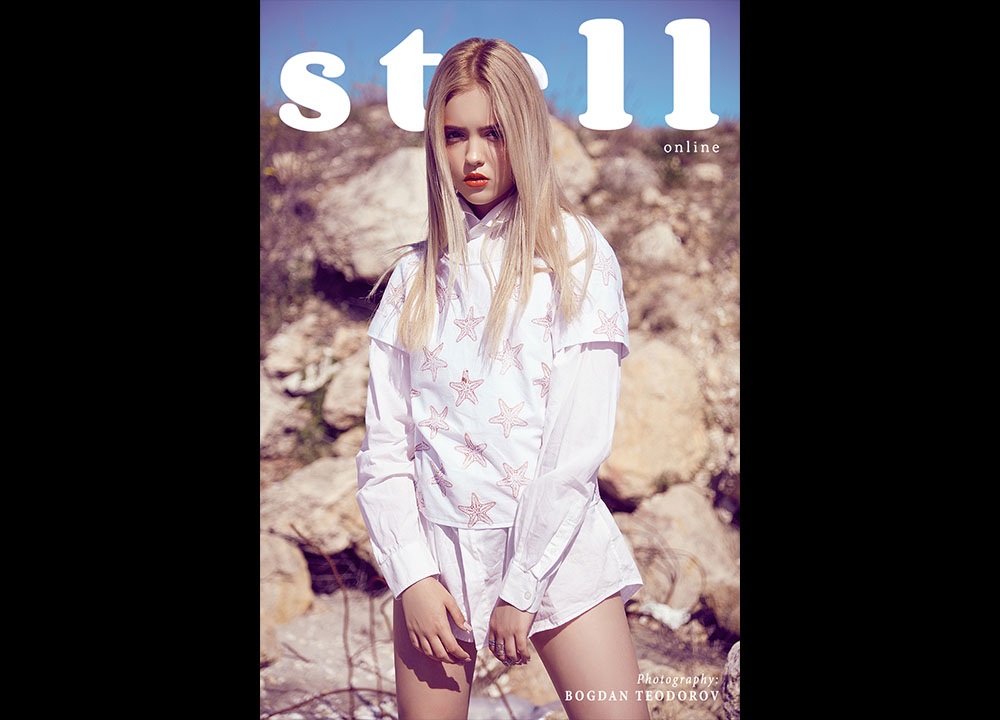 Editorial fashion Stell Magazine