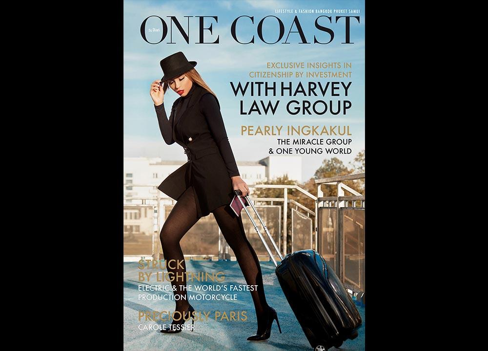 Cover One Coast Magazine fotograf fashion Romania