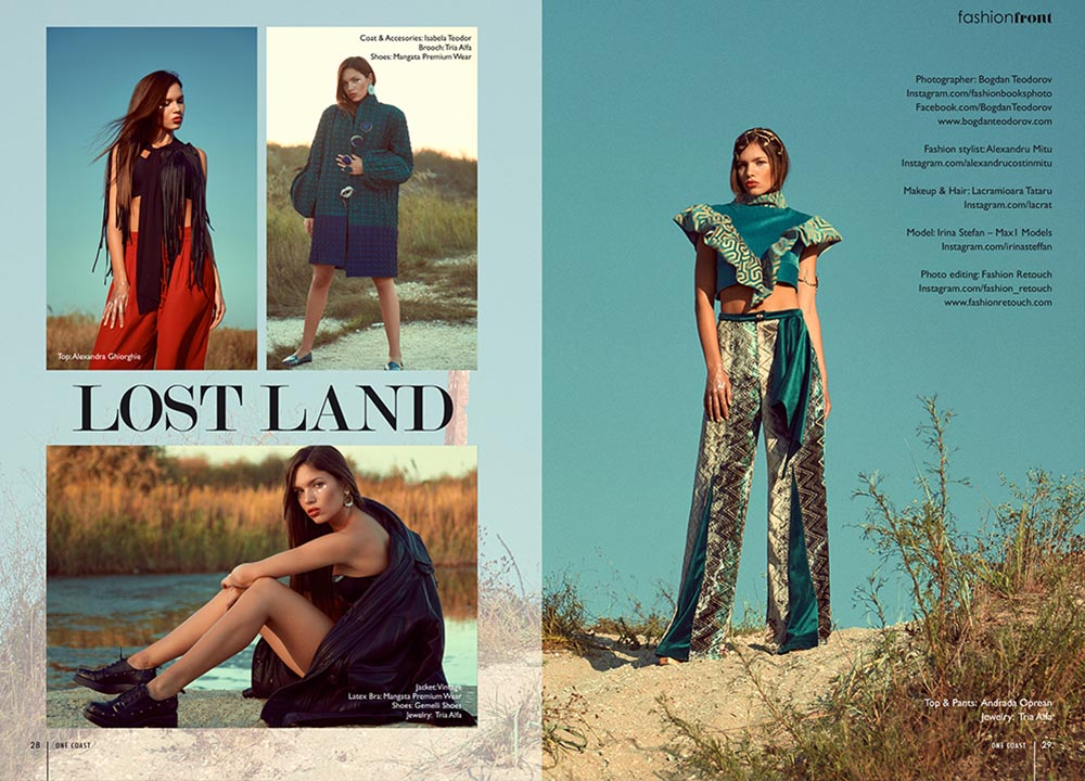 Editorial One Coast Magazine fotograf fashion Romania