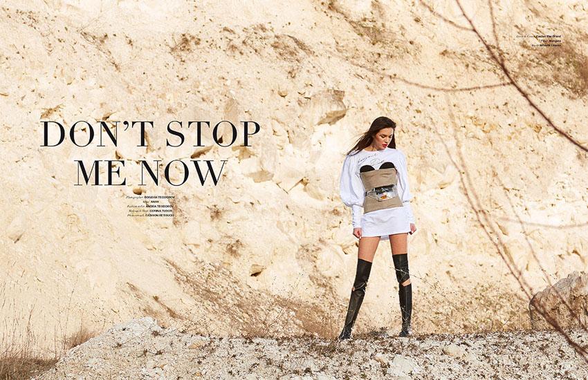 Sedinta Foto Fashion Editorial Cliche Magazine Fotograf Moda