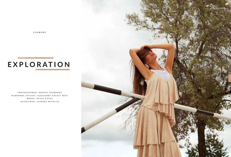 Editorial Fashion Realizat pe Plaja Mamaia